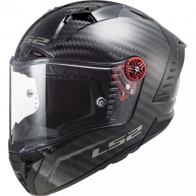 Casque intégral LS2 FF805 THUNDER SOLID carbone