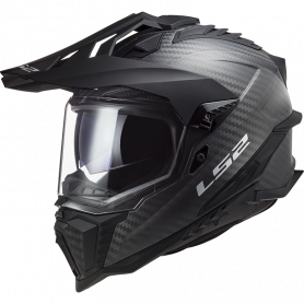 MX helmet LS2 MX701 EXPLORER C SOLID CARBON