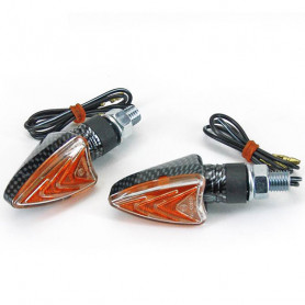 Arrow  indicator bulb Road legal carbon look ( 1 pair)