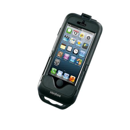 Interphone Handlebar Holder Non-Tubular Communication System